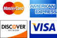 MasterCard Amercian Express Discover Visa Accepted in 20874